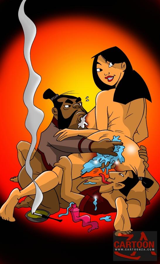 mulan having naked sex