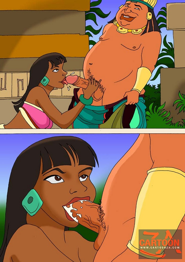 Sex in El Dorado - Cartoon Za Porn