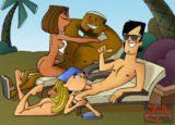 Total Drama Island sex version - Cartoon Za Porn