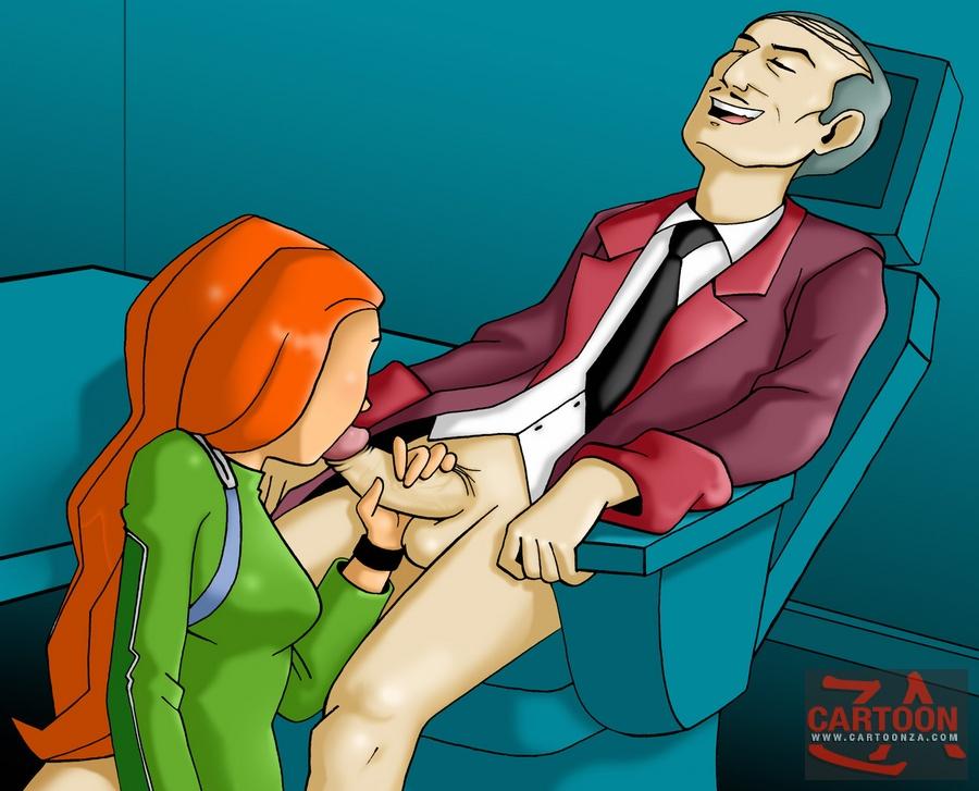 cartoon sex totally spies